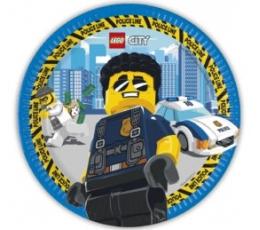 "Taldrikud ""Lego City"" (8 tk./23 cm)"