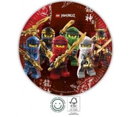 """Taldrikud """"Lego Ninjago"""" (8 tk. 23 cm)"""