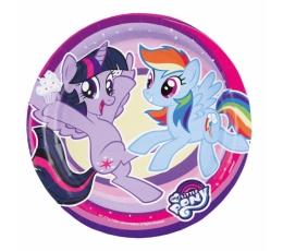 """Taldrikud """"Minu väike poni"""" (8 tk / 18 cm)"""