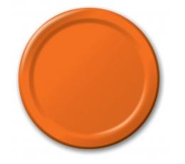 Taldrikud, oranžid (8 tk / 17 cm)
