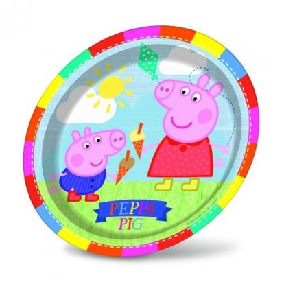 "Taldrikud ""Peppa Pig"" (8 tk / 23 cm)"