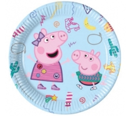 "Taldrikud ""Peppa Pig"" (8 tk./20 cm)"