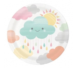 """Taldrikud """"Pilveke"""" (8 tk./18 cm)"""