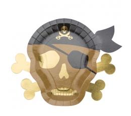 """Taldrikud """"Piraadid"""" (8 tk / 26 cm)"""