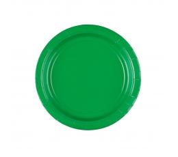 Taldrikud, rohelised (8 tk / 17 cm)