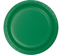 Taldrikud, rohelised (8 tk / 22 cm)