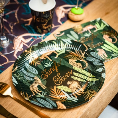 """Taldrikud """"Saladuslik džungel"""" (8 tk./23 cm)"""