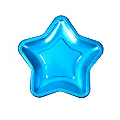 """Taldrikud """"Sinine täheke""""  (6 tk / 18 cm"""