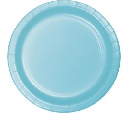 Taldrikud, sinised (24 tk / 17 cm)
