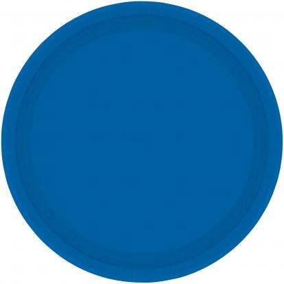 Taldrikud, sinised (8 tk / 17 cm)