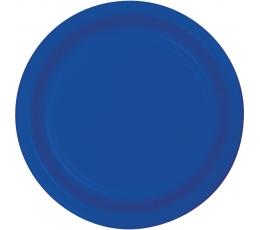 Taldrikud, sinised (8 tk / 18 cm)