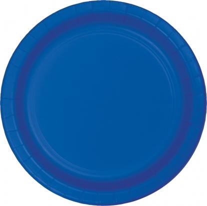 Taldrikud, sinised (8 tk / 22 cm)