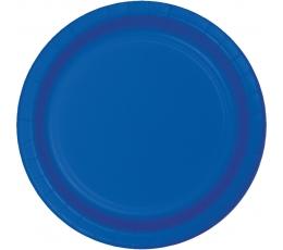 Taldrikud, sinised (8 tk./17 cm)