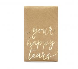 """Taskurätikud pulmadeks """"Your happy tears"""" (10 tk.) 1"""