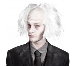 Teadlane zombie parukas, valge
