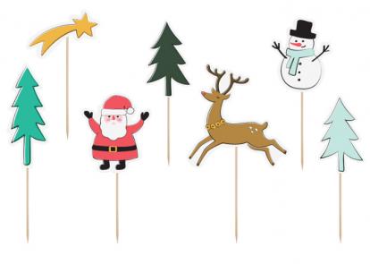 """Tikud-dekoratsioonid """"Jõulud"""" (7 tk.)"""