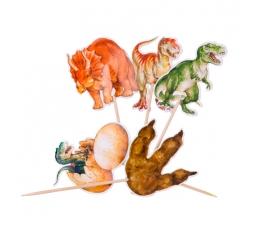 """Tikud / kaunistused """"Dinosaurused"""" (20 tk./12 cm)"""