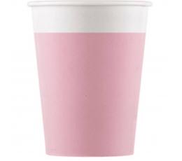 Topisid, roosad (8 tk./200 ml) kompostitavad