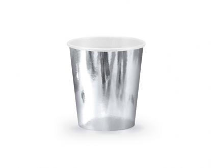 Topsid, hõbedased läikivad (6 tk / 180 ml)