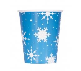 """Topsid """"Hõbedased lumehelbed"""" (8 tk / 266 ml)"""