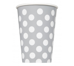 Topsid, hõbedased valgete täppidega (6 tk./355 ml)