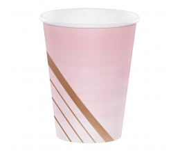 Topsid, roosad triibulised (8 tk / 354 ml)