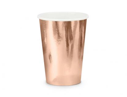Topsid, roosakas kuldsed (6 tk./220 ml)