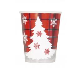 """Topsid """"Ruudulised jõulud"""" (8 tk./266 ml)"""