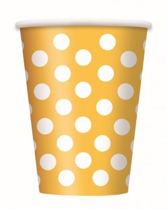 Topsid, täpilised kollased (6 tk / 355 ml)