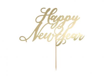 "Tordikaunistus ""Happy New Year"""
