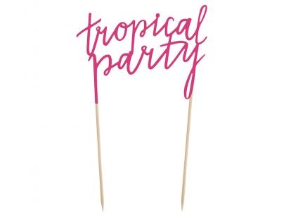 "Tordikaunistus ""Tropical party"""