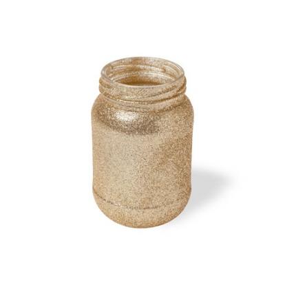 Vaas - purk, kuldne (11x7 cm)