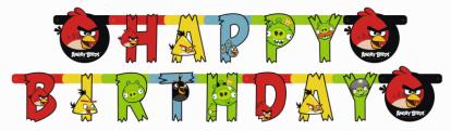 """Vanik """"Angry Birds"""" (180x15 cm)"""