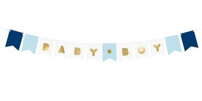 "Vanik ""Baby Boy"", kuldselt helesinine (2,5 m)"