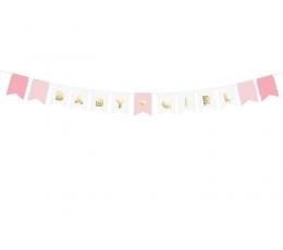 """Vanik """"Baby Girl, kuldselt roosa (2,5 m)"""
