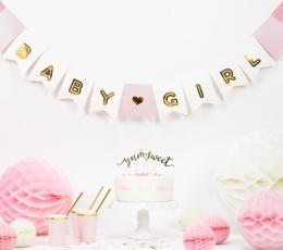"""Vanik """"Baby Girl, kuldselt roosa (2,5 m) 0"""