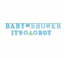 """Vanik """"Baby Shower/It's a boy"""",helesinine (2 tk.)"""