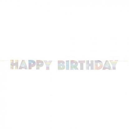 "Vanik ""Happy Birthday"", pärlmutter (2,2 m)"
