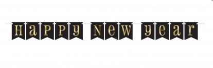 """Vanik """"Hapy New Year"""", must kuldsega (2,13 m)"""