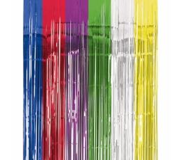 Värviline fooliumkardin (240x91cm)