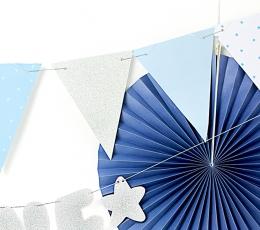 Vanik, lipud - sinakas hõbedne (1,3 m) 1