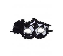Veneetsia mask, must ja valge