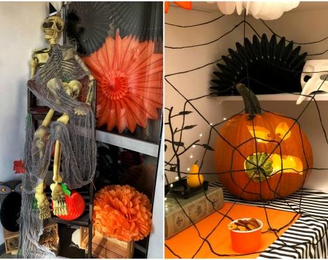 Lihtsad ideed ja näpunäited täiskasvanute Halloweeni peoks