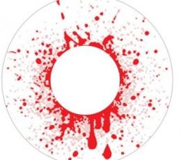 """Silmaläätsed """"BLOOD SHOT DROP"""" (1 päevased) 0"""