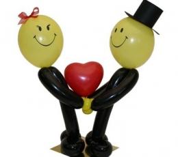 """Õhupallidefiguur """"Armas paar"""" 2"""