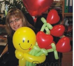 """Õhupallifiguur """"Naeratus südametega"""" 2"""