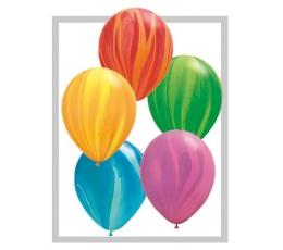 Guminiai marmuriniai balionai (25vnt./28cm.Q11)