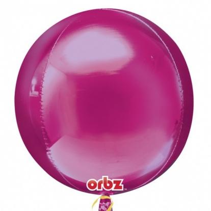 Orbz. õhupall / vaarikapunane (38 cm. x 40 cm.)