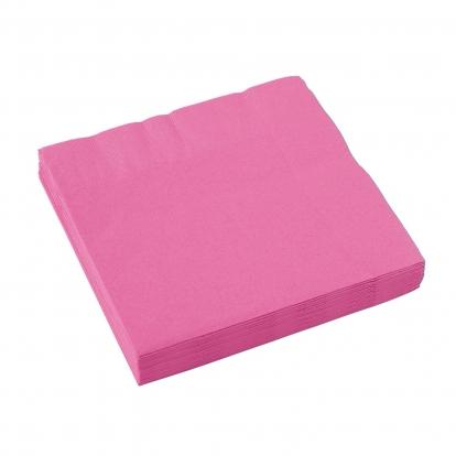 Popierinės servetėlės / rožinės (20 vnt./33 cm. x 33 cm.)