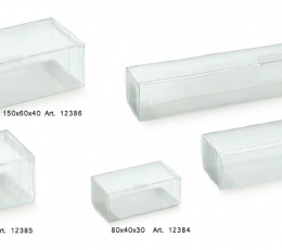 Kinkekarp, läbipaistev (1 tk / 80x60x40 mm) 3